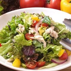 料理メニュー写真ささみと大葉のフレッシュサラダ