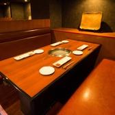 テーブル席(全席区切り有り)