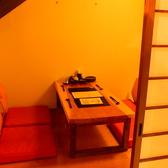 5名様までの完全個室も有ります。