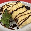 料理メニュー写真バニラアイスクレープ