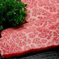料理メニュー写真十勝池田町産の特上牛カルビ炙り&道内産特上牛サガリ炙り