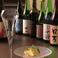 和食にも通ずるスタッフとマスターが日本酒を仕入れ。県内産の日本酒をお楽しみください。