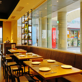 様々なテーブル席を多数ご用意♪人数に応じて最適なお席へとご案内いたします