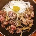 料理メニュー写真極上さつま地鶏の特もも炙り炭火焼