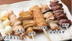 料理メニュー写真【鶏串】すべて150円※塩かタレをお選びください。
