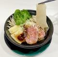料理メニュー写真牛肉生ライス麺