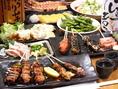 【食べ放題・飲み放題】宴会にオススメのコースも多数!コース料理は、全4種類あります!食べ放題・飲み放題はなんと3000円!