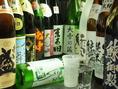 北海道の地酒~道外の地酒まで豊富に。