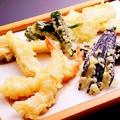 料理メニュー写真揚げたて天ぷら