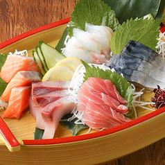 富山湾直送鮮魚盛り合わせ 5種