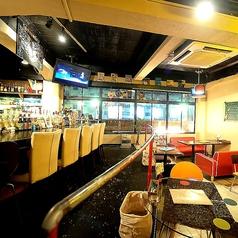 雨天の場合もご安心ください★店内でも美味しいビールやお料理が楽しめます!