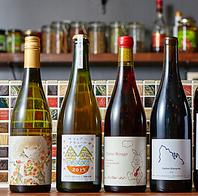 【こだわり!】世界各国の種類豊富なワインの数々!