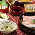 料理メニュー写真【極撰】沖縄県島豚 そばつゆしゃぶ