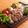 """料理メニュー写真イベリコ豚""""ベジョータ""""と野菜のグリル"""