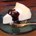 料理メニュー写真彩賀オリジナルチーズケーキセット