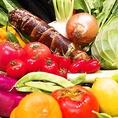 ■産地直送野菜■ 夏の期間は、毎朝札幌近郊の契約農家さんより、、今朝収穫したばかりの鮮度抜群の採れたて野菜が、店舗に直送されています!