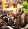 料理メニュー写真宮崎名物!鶏ももの炭火焼き