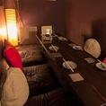 ロフトの下にある穴倉みたいな座敷の個室です。こちらも女性に人気で早めのご予約をオススメします。天井が低いのでお気をつけ下さい☆最大6名様まで。