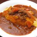 料理メニュー写真オムカレー・オムハヤシ・ツナクリームオムライス・なすとひき肉のトマトソースオムライス
