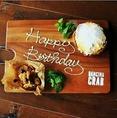 【誕生日にもピッタリ★】誕生日やデート、記念日等に最適なサービスもご用意◎お気軽にお問合せ下さい♪