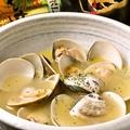 料理メニュー写真[入荷次第]はまぐりバター焼き/酒蒸し 鹿児島県根占直送
