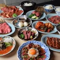 こだわりぬいた肉を様々な調理方法で楽しめるのも人気