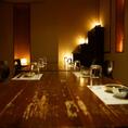 高級感あふれる個室は贅沢空間。大人気のため、ご予約はお早めに♪2名様~のご利用も承りますので、お気軽にお問い合わせ下さいませ。