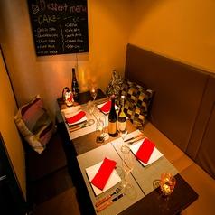 チーズフォンデュと個室の肉バル横丁 新宿店の雰囲気1
