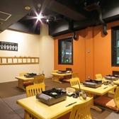 東流 2名様席×6 宴会最大20名様までOKのお部屋です。博多祇園山笠のグッズや手ぬぐいなどが飾られれいる楽しく気軽にお過ごし頂けるお部屋。