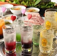 【赤坂で乾杯♪】韓国料理と種類豊富な飲み放題!