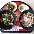 料理メニュー写真ミニ丼麺セット(ミニ丼3種から1種&そばセット)