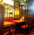 大阪串カツ 鉄板 おかもとの雰囲気1