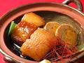 料理メニュー写真豚の角煮