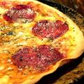 料理メニュー写真ぱりぱりトマトピザ