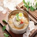 料理メニュー写真スープ冷麺