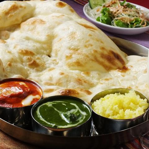 本格的なスパイスを使った、こだわりのネパール料理をご堪能ください。