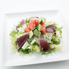 カツオとオニオンの土佐風サラダ