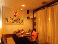 ソファカーテン×半個室