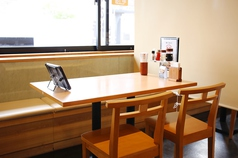 2~4名様までのテーブル席