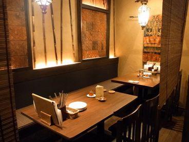 インドネシア 小皿居酒屋 ワヤンバリの雰囲気1