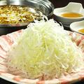 料理メニュー写真博多葱豚しゃぶしゃぶ