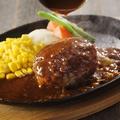 料理メニュー写真グリル大宮ハンバーグ デミグラスソース