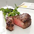 料理メニュー写真■若姫牛フィレ肉のステーキ ソースボルドレーズ(150g)