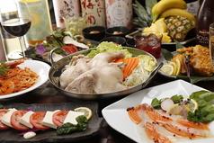 炭火焼と海鮮、手づくり豆富 まいど! 大通南1条店のコース写真
