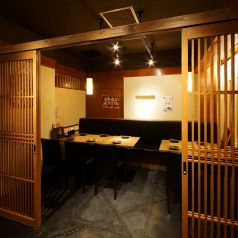 少人数なら個室で宴会もOK♪10名様まで可能な個室!!まったりとお過ごしいただけます。大阪ミナミ難波エリアでの送別会・歓迎会・二次会など各種ご宴会はぜひ三間堂千日前店へ!