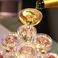 【シャンパンタワー】…お祝い事などにオススメ。キラキラと輝くシャンパンタワーをご用意いたします。