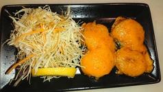 ホタテのウニ焼(Scallop covered in sea urchin)
