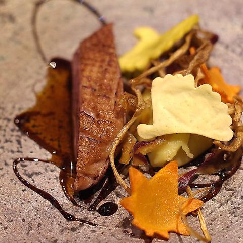 【プチ贅沢コース】鵠沼海岸近くの一軒家で味わう前菜、Wメイン等 全9品