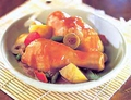 料理メニュー写真鶏のトマトソース煮