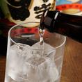 九州料理のお供に!焼酎・日本酒など渋めのラインナップも豊富♪